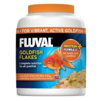 Fluval Goldfish Coldwater Fish Flake Advanced formula replaces Nutrafin
